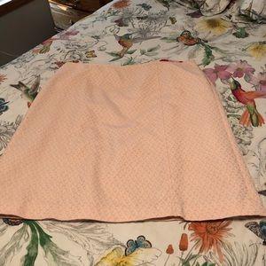 Fully lined skirt